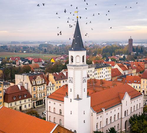 Kąty Wrocławskie - ratusz
