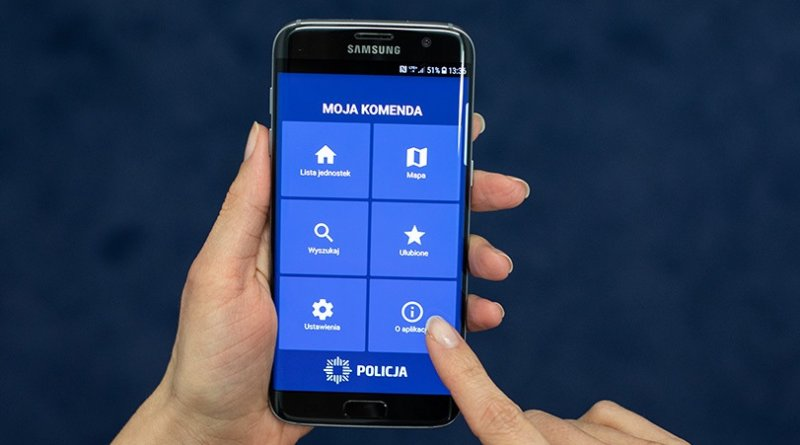 "Aplikacja mobilna ""Moja Komenda"""