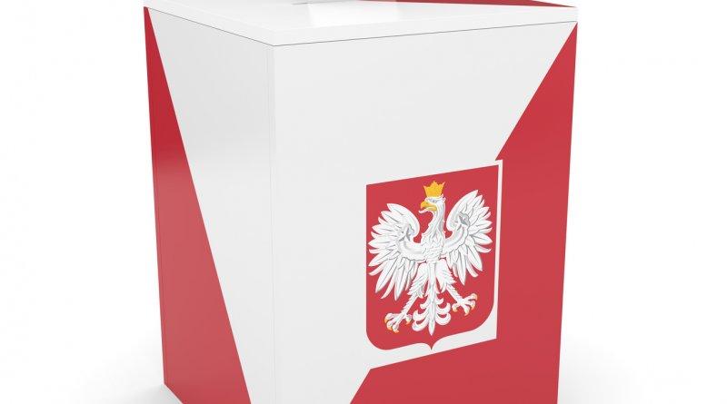 zdjęcie przestawia urnę wyborczą