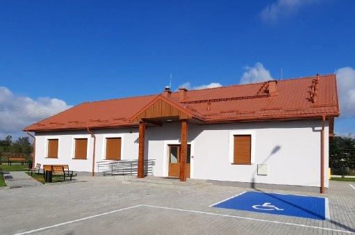 Obrazek przedstawia budynek świetlicy